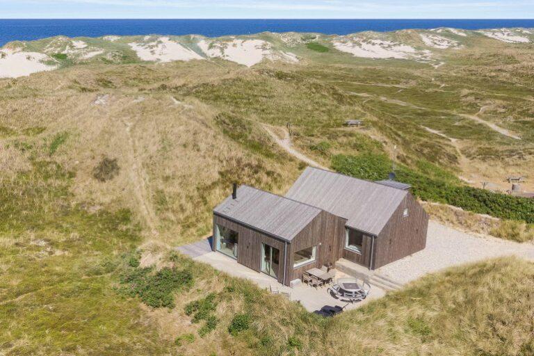 Hütte Dänemark am Meer bei Sondervig