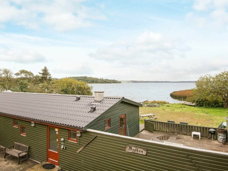 Hütte Dänemark am See - fantastisch